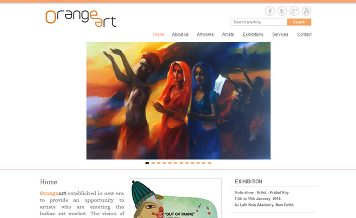 WordPress site for Art and Painting - by OneSolution