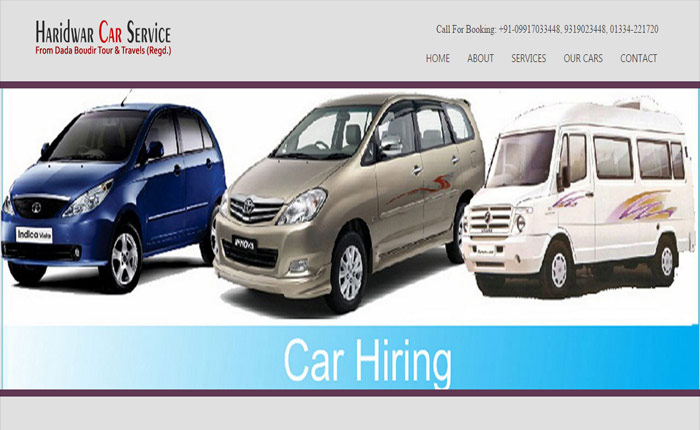 Website for Car Service Provider
