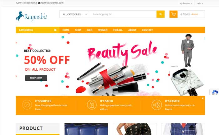 WordPress Ecommerce Solution from OneSolution